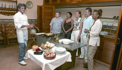 Spanish cooking holiday class