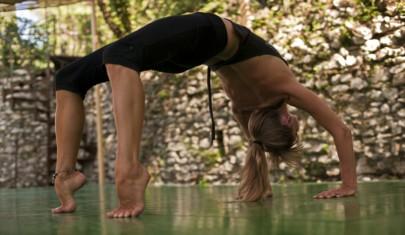 Yoga holiday Sabina Hills Italy