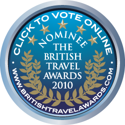 British Travel Awards 2010 - Vote for NotInTheGuideBooksnow!