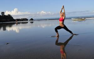 Jaco beach yoga