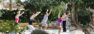 Yoga garden - Taras retreat