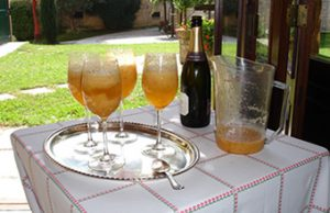 Cookery holiday Italy - bellinis