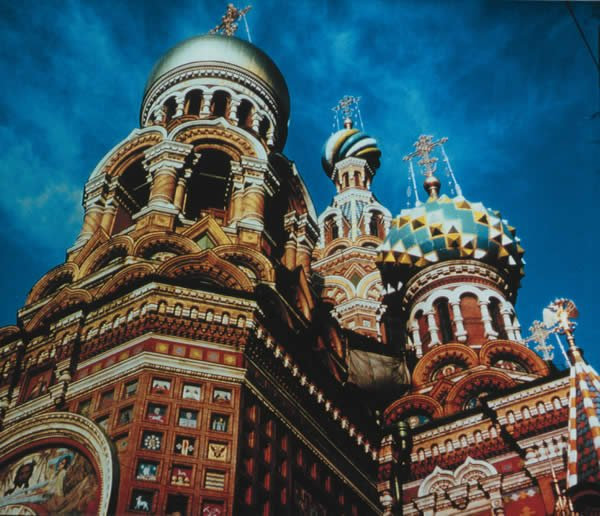 Church of Savior on the Spilled Blood in Russia