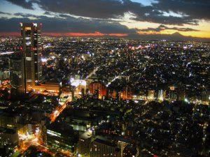 Japanese Tokyo - city night - HLI