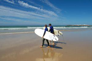 baleal surfing portugal