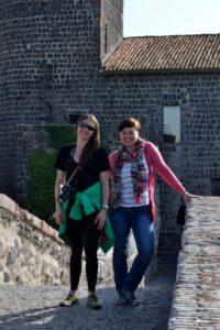 Photography holiday guests at roman ruins