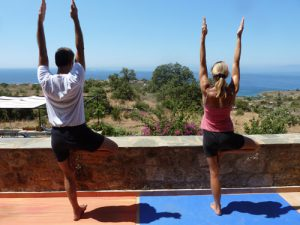 Yoga and horse riding holiday in Greece