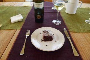 Torta al Cioccolato in an Italian restaurant
