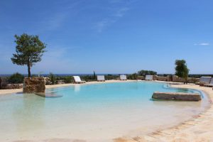 Organic cookery holiday in Puglia -pool
