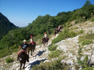 Horse riding and yoga in Italy