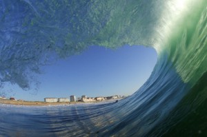 surf camp Biarritz, France - waves
