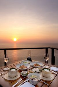 gourmet Thai cookery holiday in Phuket - balcony view