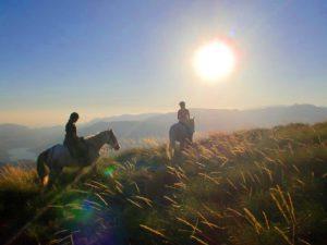 Horse riding short break in Granada