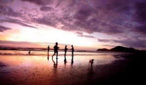 School of the World Costa Rica Jaco beach sunset