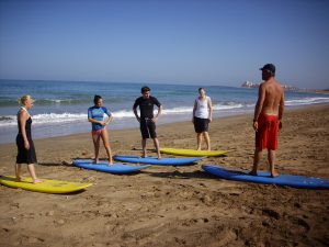 Surf and Moroccan cookery holiday - surfing lessons