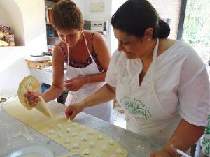 Italian cookery holiday, Sorrento
