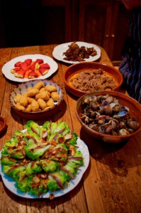 cooking holiday vacation Spain Andalucia traditional food