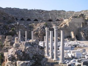 Yoga holiday in Turkey - ruins