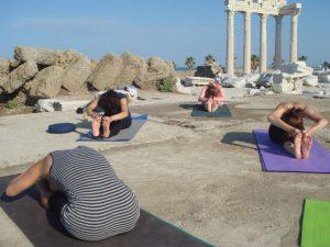Yoga holiday in Turkey - yoga sessions