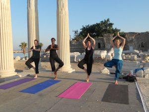 Yoga holiday in Turkey - yogis galore