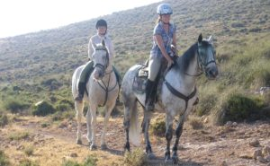 workaholic horse riding holiday working vacation Spain Andalucia ranch work