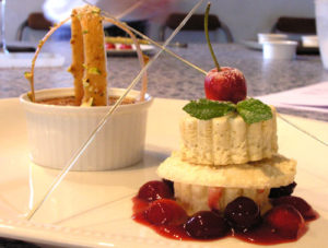 Gourmet_cookery_holiday_Loire_Valley_iced_cassis_souffle