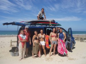 Surf and yoga holiday in Spain