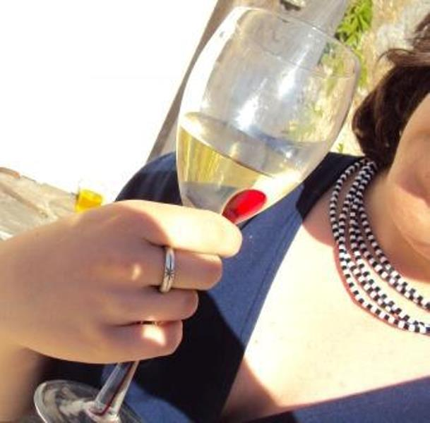 making jewellery in France and drinking wine