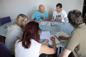 Group French lessons
