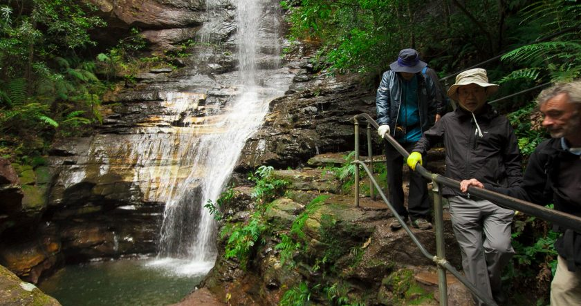 National Park Waterfall