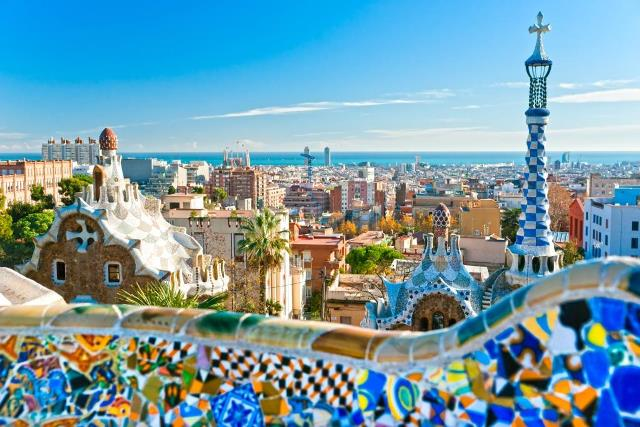 Barcelona Spain from