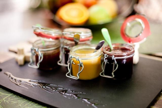 jam pots from cooking holiday in Cote d'Azur France