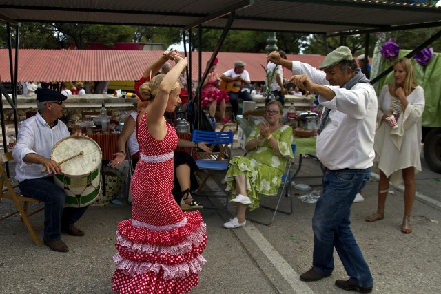 flamenco dancers in Nerja Spain