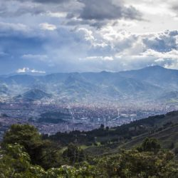 cityscape view of medellin