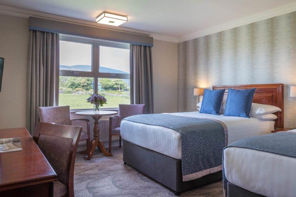 hotel accommodation on hiking tour