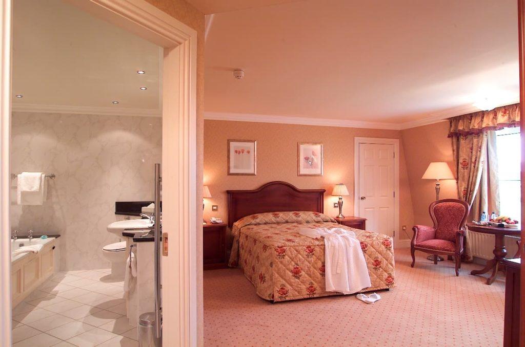 double bedroom in Connemara hotel