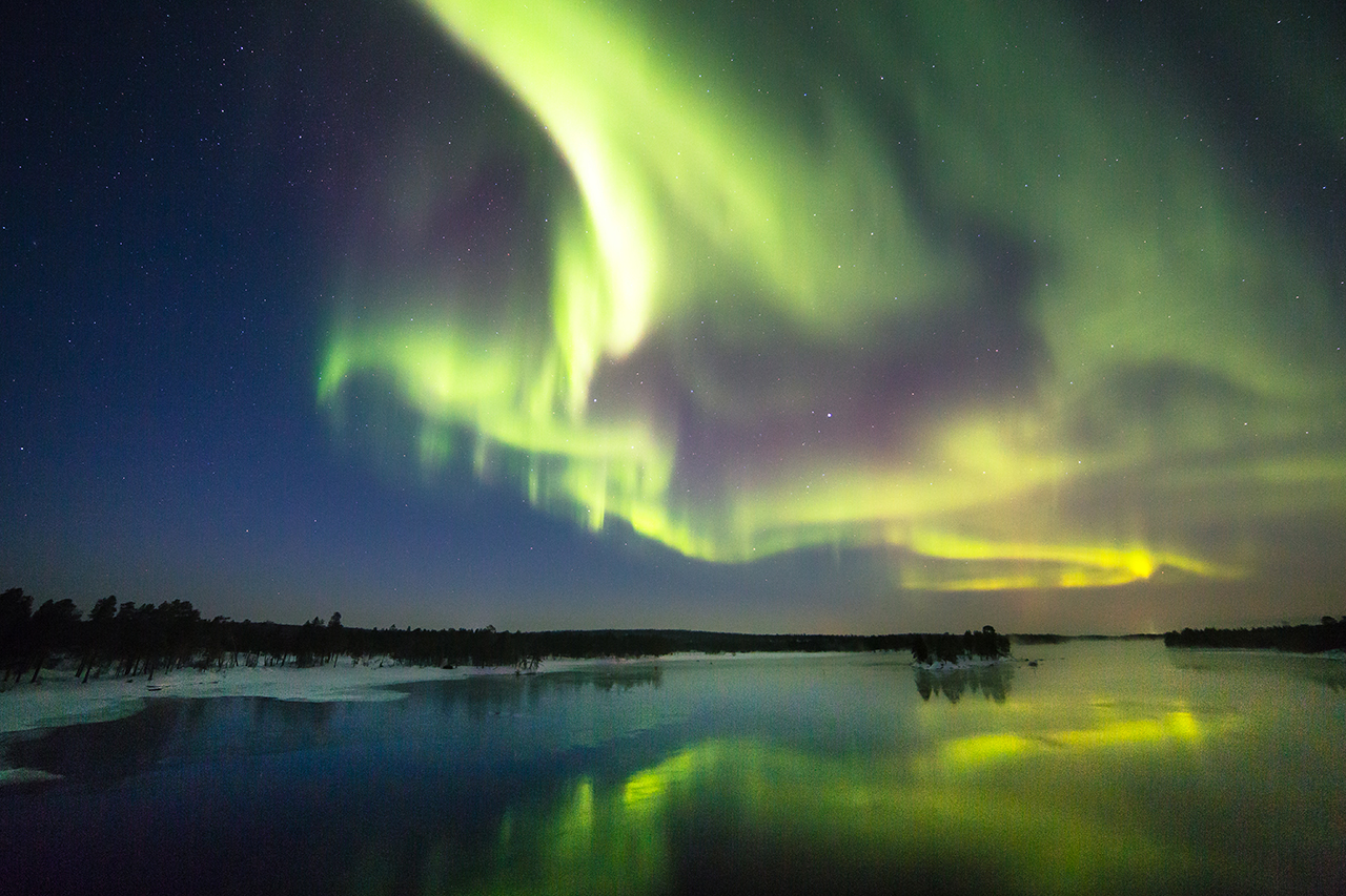 spotting the northern lights