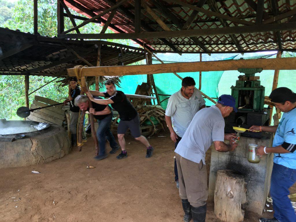 San Gerardo de Dota and the Los Abuelos sugar mill