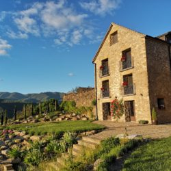 stone house accommodation in the Pyrenees