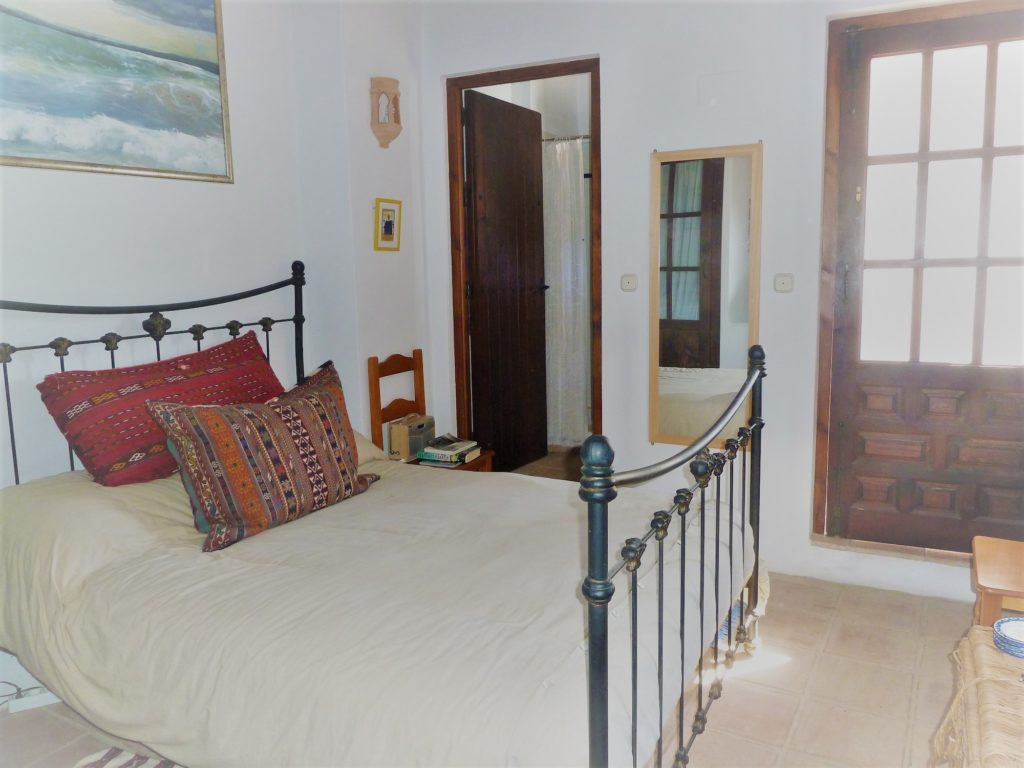 double bedroom in Spanish home on bread baking holiday
