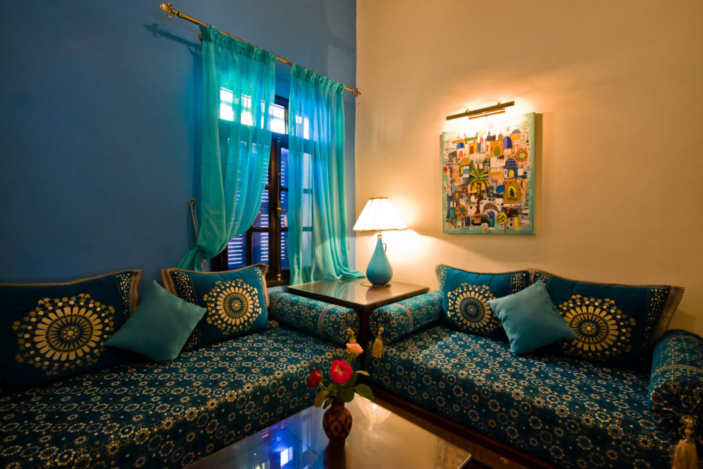 beautiful riad accommodation in Morocco on photography holiday