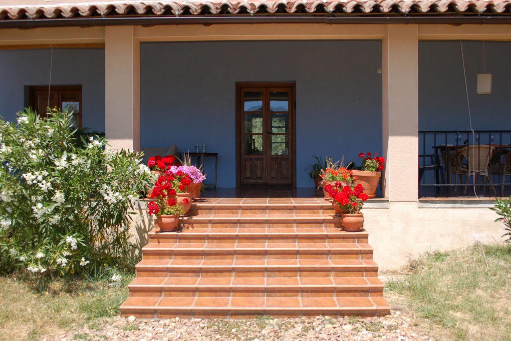 entrance to finca in spain