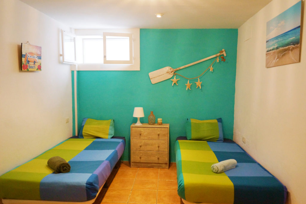 single bed shared accommodation