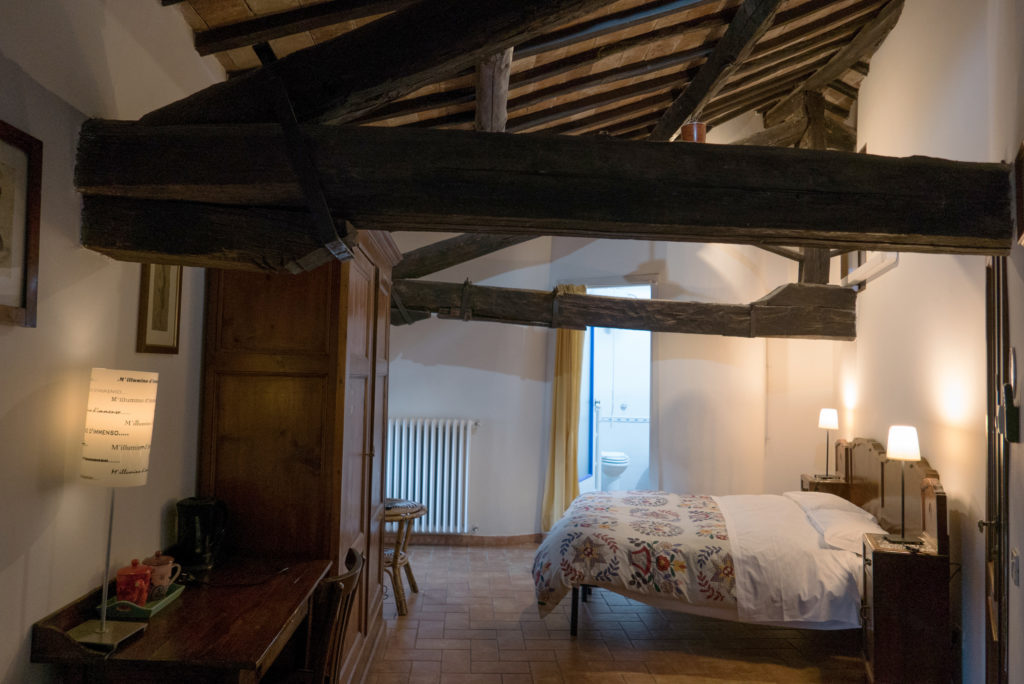 bedroom accommodation in umbria