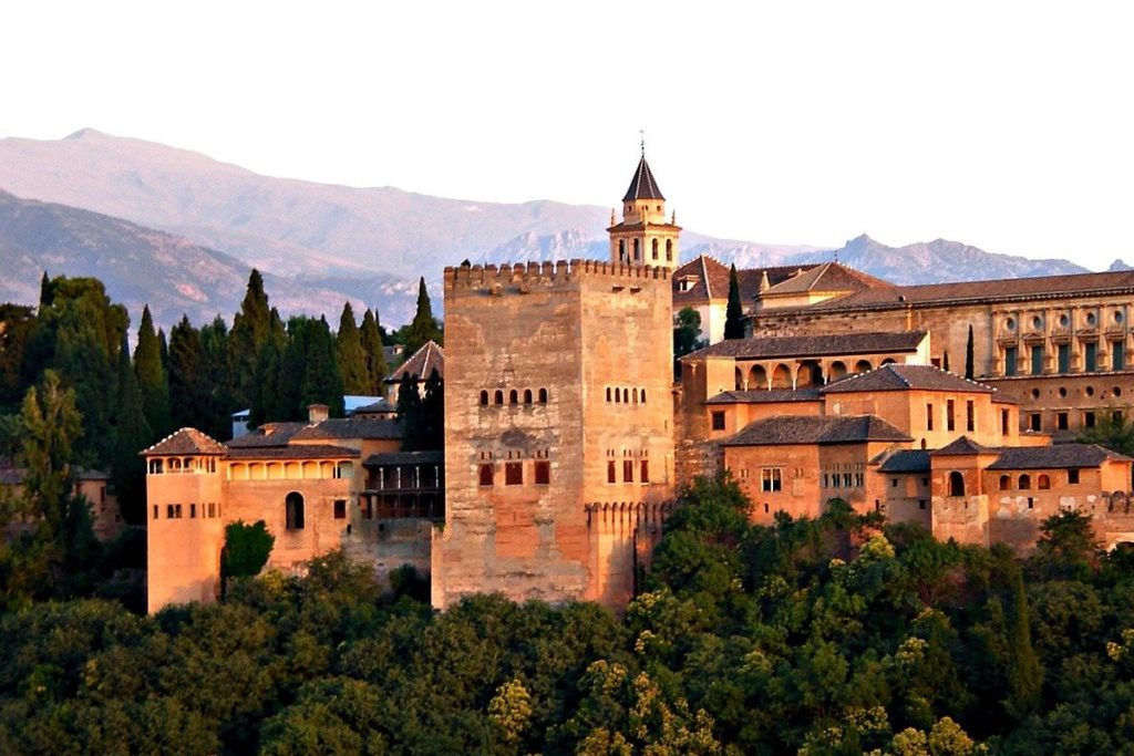 alahambra castle in granada
