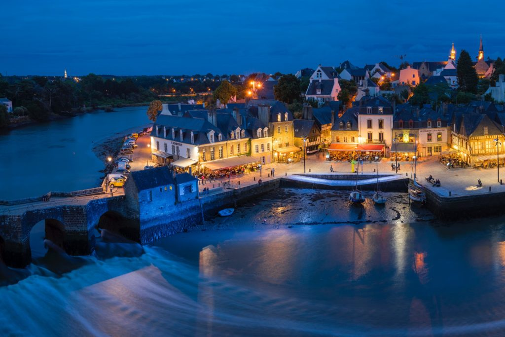 harbour village in brittany