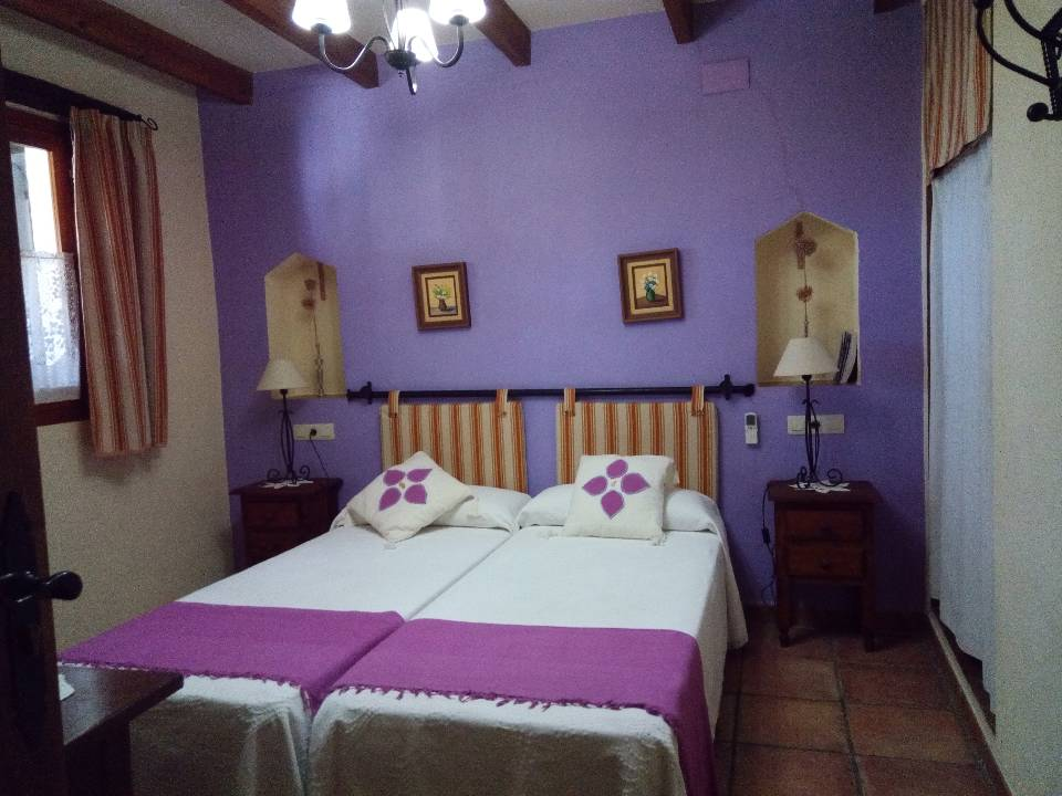 double bed in rancha accommodation spain