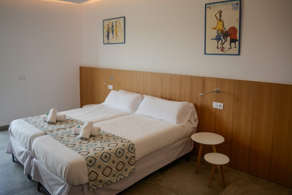 superior twin bedroom accommodation