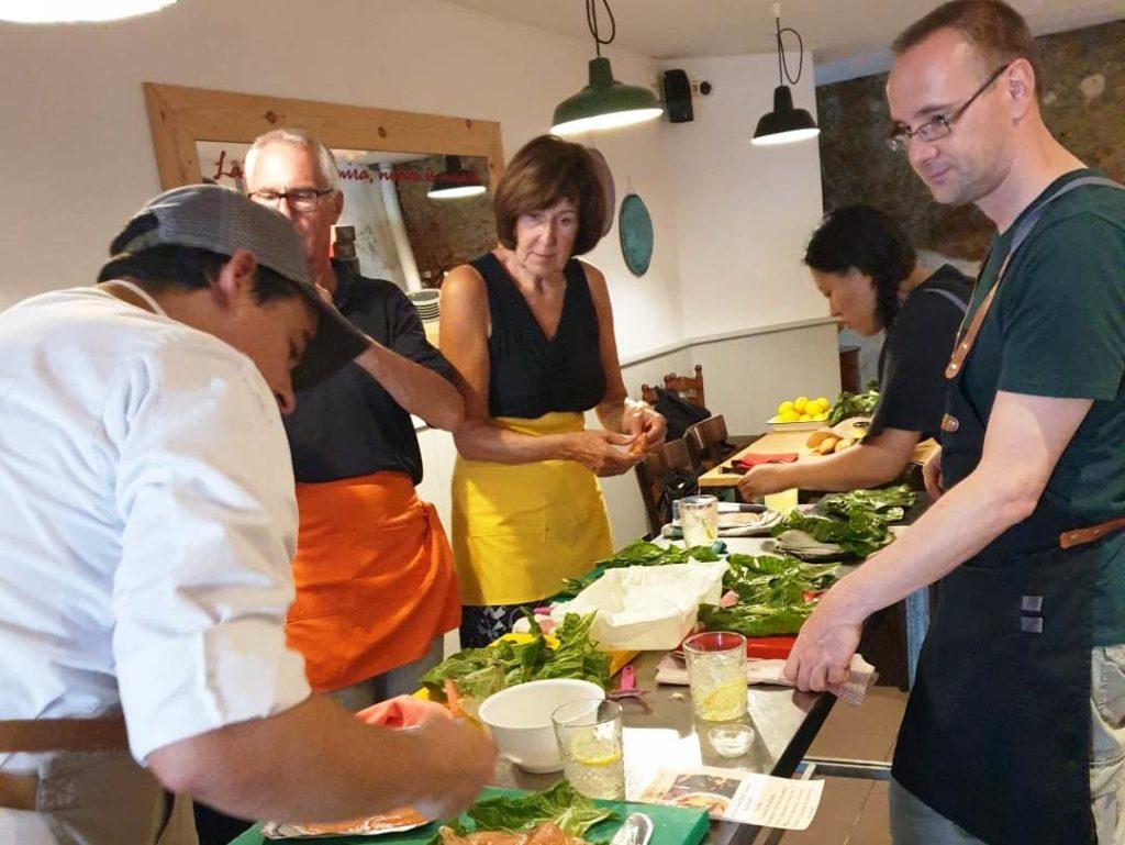 spanish cooking class in Menorca