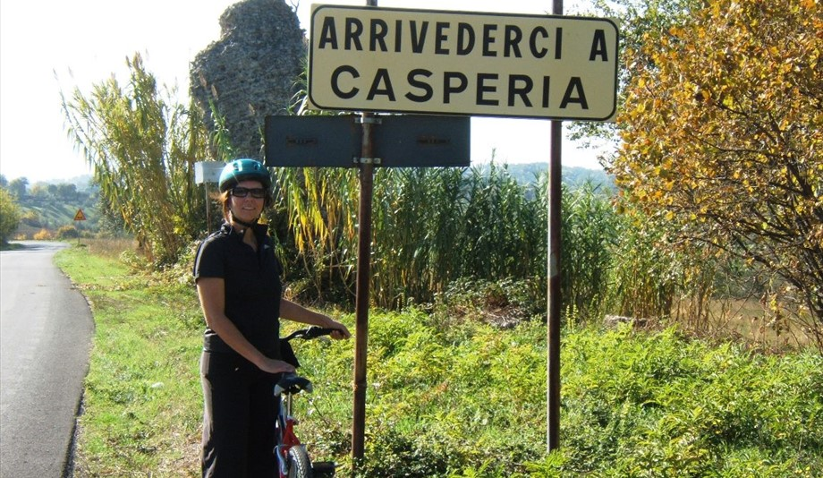 active holiday in europe cycling in casperia